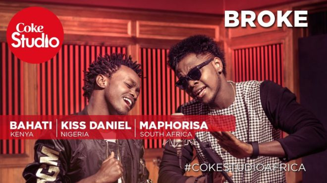 Music:Kiss Daniel ft. DJ Maphorisa & Bahati – Broke