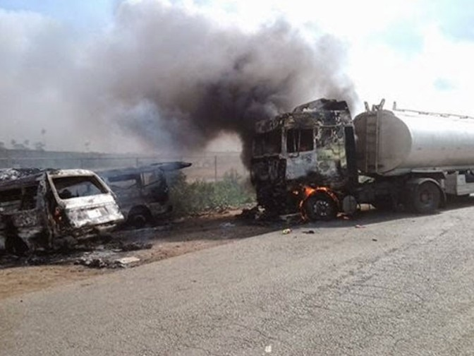 Gridlock On Lagos-Ibadan Expressway Enters day 2