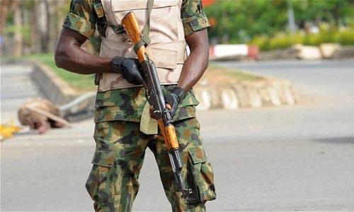 Nigeria Soldier Fakes Own Kidnap, Arrested In Girlfriend's House