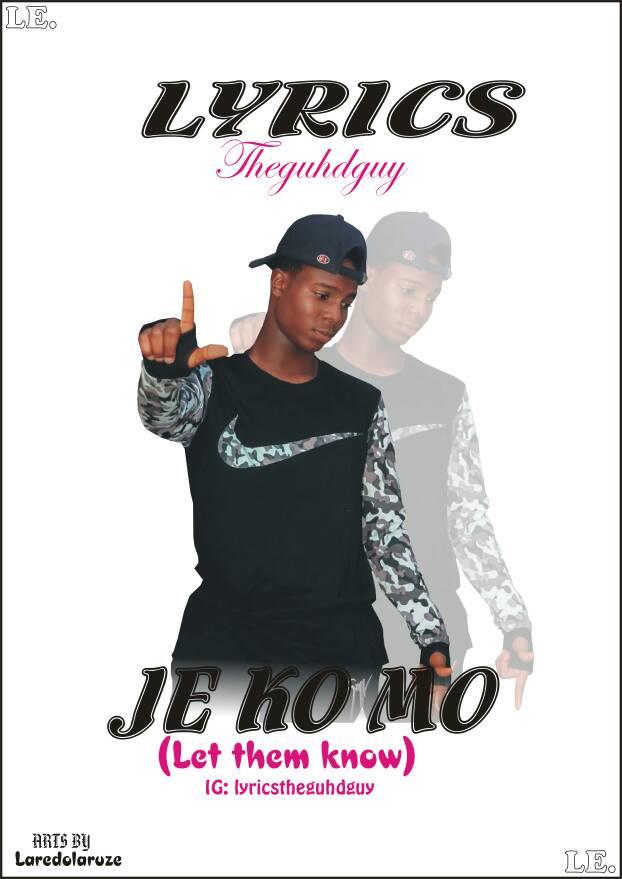 MusicMusic: Je Ko Mo – Lyrics_theguhdguy
